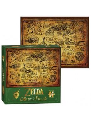 Puzzle Nintendo Zelda Mapa Hyrule