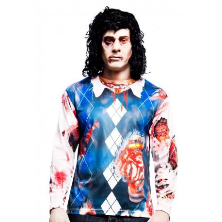 Camiseta Cosplay Zombie man