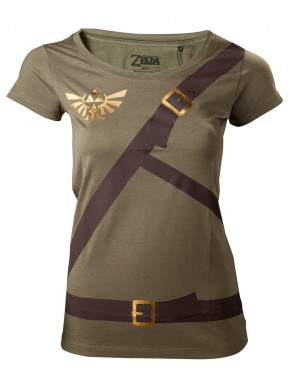 Camiseta chica Zelda soy Link