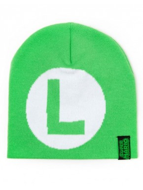 Super Mario gorro invierno Luigi