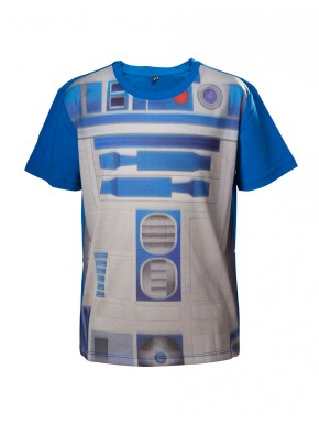 Camiseta niño Star Wars R2D2