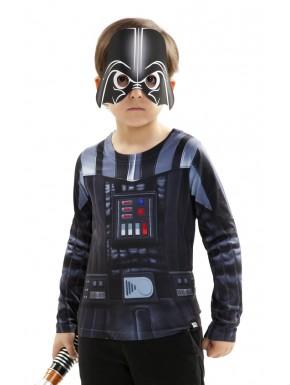 Camiseta Cosplay Star Wars Vader niño