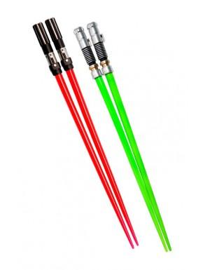 Duo palillos sable laser Luke y Vader