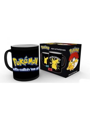 Taza Térmica Pokemon Pikachu
