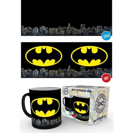Taza térmica Batman logo