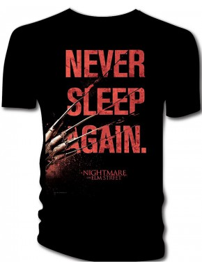 Camiseta Never Sleep Again