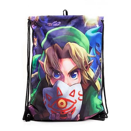 Zelda bolsa tela Mascara majora