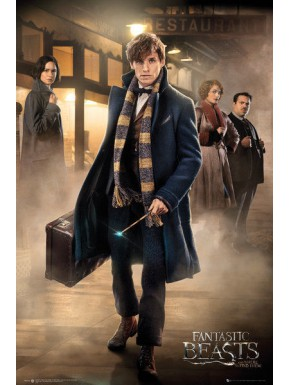 Poster Animales Fantasticos Newt