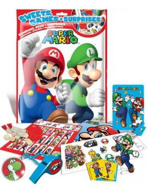 Sobre sorpresa Super Mario