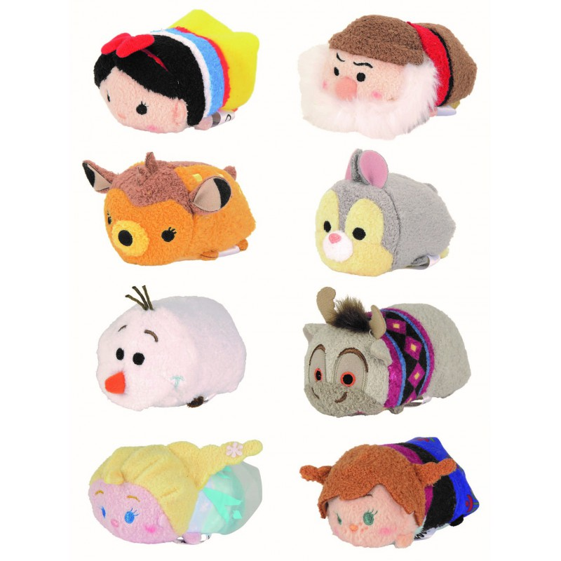 peluches disney tsum tsum por solo. Black Bedroom Furniture Sets. Home Design Ideas