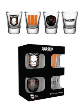 Set vasos de chupito Call of Duty Black Ops III