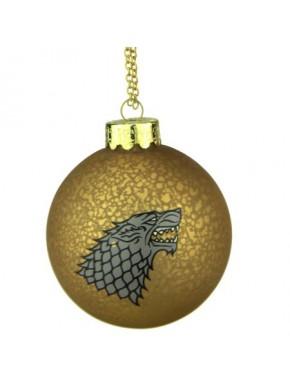 Bola de Navidad Juego de Tronos Stark