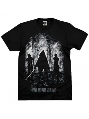 Camiseta Walking Dead Michonne Bosque