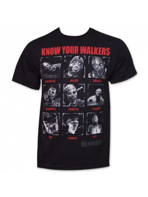 Camiseta Walking Dead Know Your Your Walkers