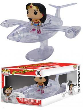 Funko Pop Wonder Woman Avión Transparente