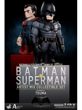 Set 2 figuras Batman vs Superman Hot Toys