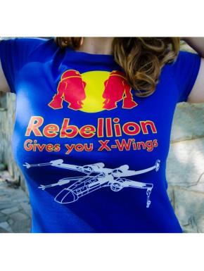 Camiseta chica Rebellion