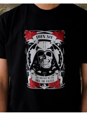 Camiseta Rock The Galaxy
