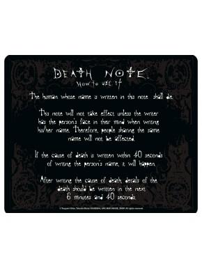 Alfombrilla Death Note normas
