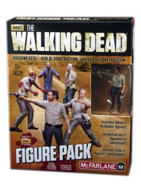 Set 5 Figuras The Walking Dead