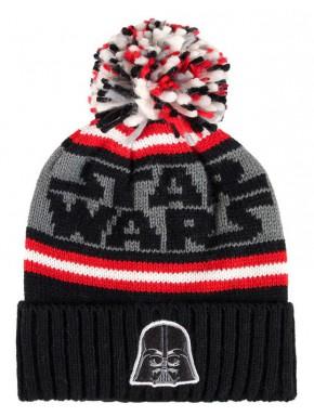 Gorro con bolita Vader