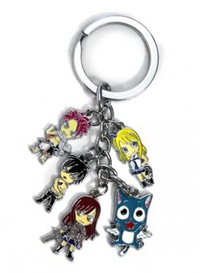 Llavero Fairy Tail personajes