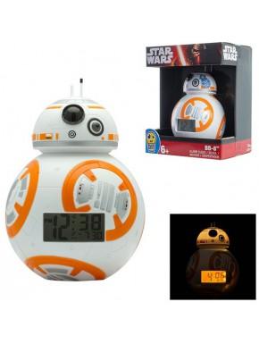 Despertador con luz BB-8 10 cm