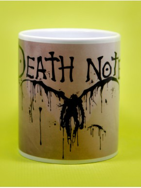 Taza Death Note black ink