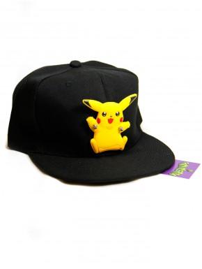 Gorra Pokemon Pikachu 3D