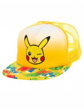 Gorra Pokemon Pikachu happy
