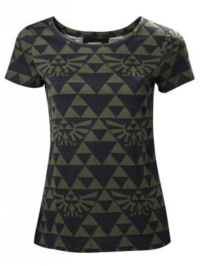Camiseta chica Zelda mosaic