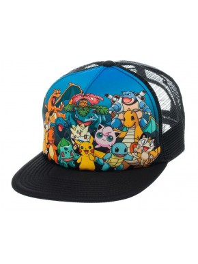 Gorra Pokemon characters