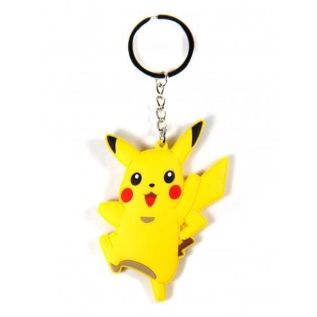 Llavero caucho Pokemon Pikachu