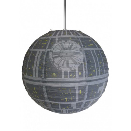 Lámpara papel Star Wars Death Star