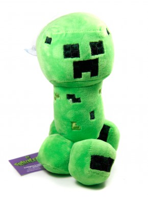 Peluche Mincecraft Creeper 18 cm