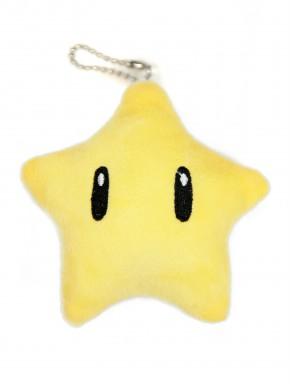 Peluche estrella Super Mario 10 cm