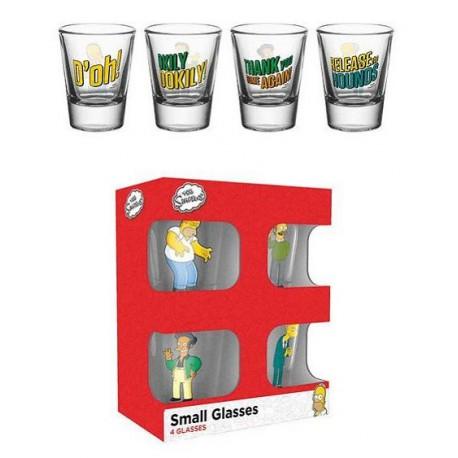 Vasos Chupito Los Simpson Por Solo 22 00 Lafrikileria Com