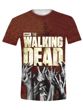 Camiseta Walking Dead hands