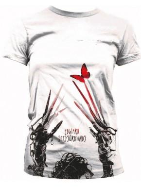 Camiseta Chica Eduardo Manostijeras butterfly