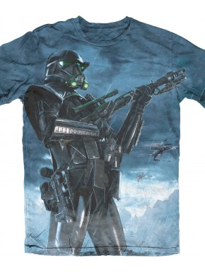 Camiseta gris Star Wars Stormtrooper
