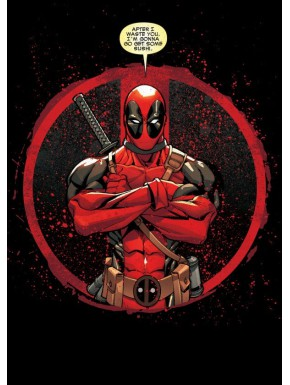 Poster metálico Deadpool
