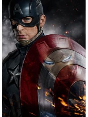 Poster metálico Capitán América