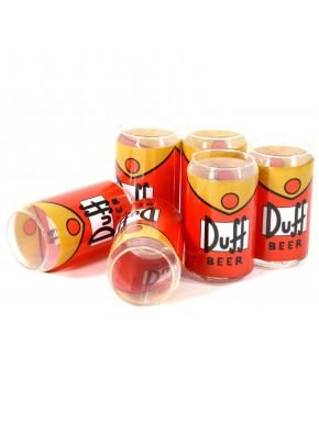 Set 6 vasos Simpson Duff 33cl
