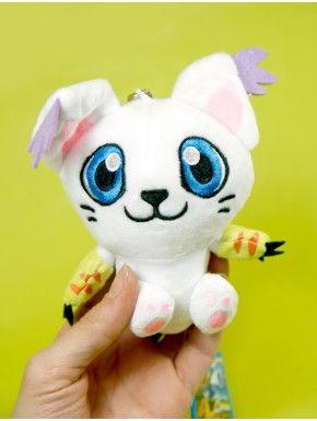 Peluche Digimon Gatomon 10 cm