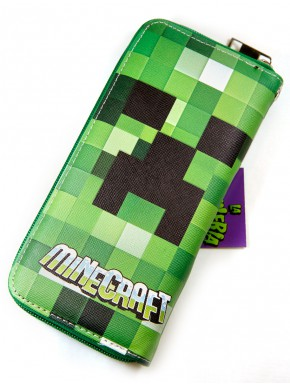 Minecraft cartera billetera Creeper