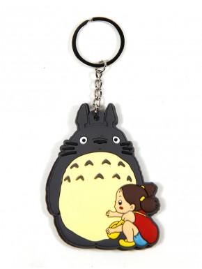 Llavero Totoro y Mei