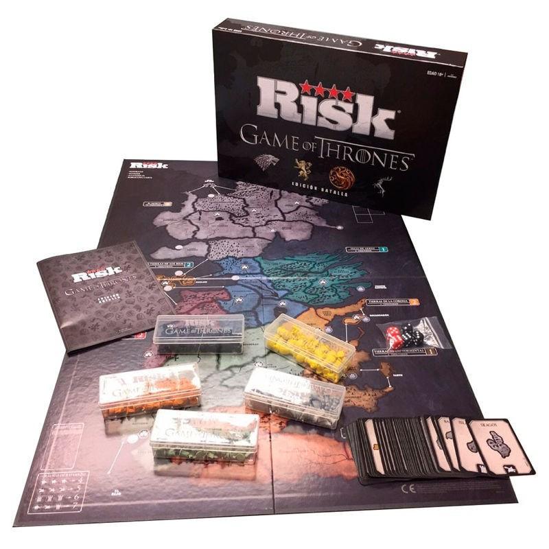 Risk Juego de Tronos Hasbro por solo 62  LaFrikileriacom