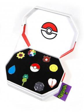 Set Insignias Pokemon Kanto