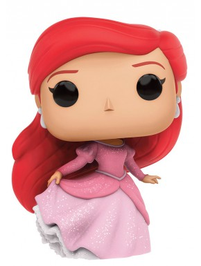 Funko Pop Ariel gala purpurina