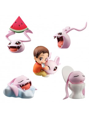 Digimon Adventure Coro-Colle Figuras Sorpresa 6cm